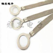法兰静电跨接线 铜编织接地线规格
