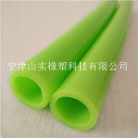 山实供应定制 绿色全塑管 浅绿色防冻塑料软管 深绿色气动环保机械管 颜色可定制