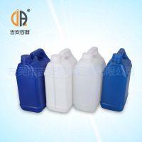 HDPE 4L食品塑料罐 4kg包装化工桶 厂家直销 价格优惠
