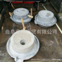 家用手摇石磨厂家小型磨粉手推石磨型号花椒粉石磨多少钱