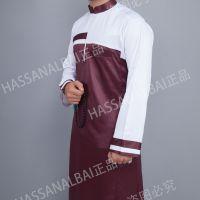 阿拉伯中东国家男士服装伊斯兰礼拜袍