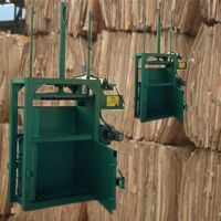 编织袋液压打包机 上海80吨塑料瓶液压打包机 启航废纸边角料压包机