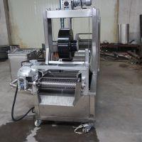 直销千妇罗全自动燃气式油炸流水线不锈钢材质匠品工艺JP-YZX-4500