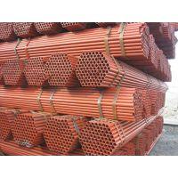 切割定尺建筑焊管现货Q235建筑架杆管拉伸好