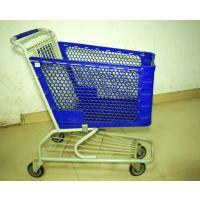 厂家直供出口品质超市手推购物车120L
