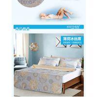 西安冰丝凉席套装 床上用品薄荷冰丝席枕套三件套 著名品牌凉席做字纪念礼品