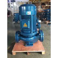 上海众度泵业 立式管道泵的规格型号 ISG50-160I 4KW 铸铁