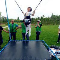 钢架蹦极弹跳床厂家直销室外加厚钢管跳跳床儿童弹跳包极限挑战