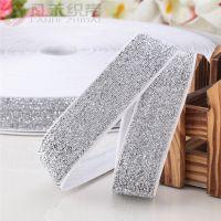 厂家直销1-2cm彩葱绒带织带 天鹅绒布丝带礼盒包装装饰带服装辅料