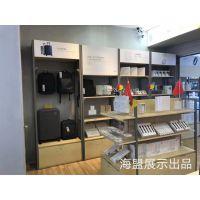 供应长沙小米之家手机体验店展示柜台新款电视柜台配件货架厂家定制