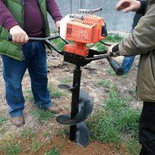 贵州植树挖坑机 小型汽油挖坑机 山地种植打眼机