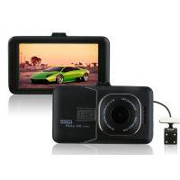 行车记录仪 高清1080P H20B双镜头 3.0屏锌合金超强夜视 外贸新品