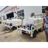 新能源电动四轮洒水车 小型多功能四轮工程车工地降尘 园林绿化
