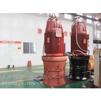 10000V启动高压潜水轴流泵_坪山河环境治理使用潜水电泵
