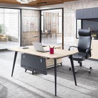 现代简约16D1801办公桌,班台,办公家具批发采购