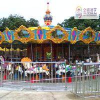 热卖旅游区游乐设施16座旋转木马