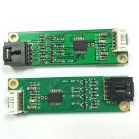 电阻式四线触摸屏驱动板 控制卡 手写屏驱动 USB接口