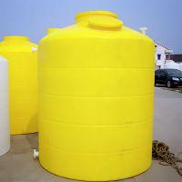 厂方直销 10吨塑料水箱 优质加厚10000L耐酸碱储罐 圆柱水箱 锥底水箱