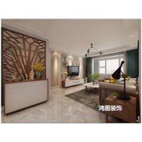 【鸿图装饰】上海滩花园120平米现代风格装修案例