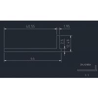 东莞铝型材厂家直销6061 6063铝面板盒盖外壳 来图来料开模订做