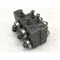 全铝线材校直器 1-3mm校直器规格5轮带手柄校直器