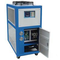 瑞朗5HP工业冷水机,风冷式冰水机,工业冷冻机