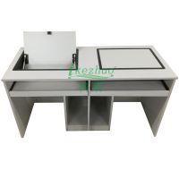 安徽显示屏翻转桌 合肥嵌入式电脑翻转桌 边框科桌家具做工精细,经久耐用