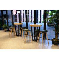 上海咖啡厅桌椅定做咖啡厅实木桌椅定做生产厂家