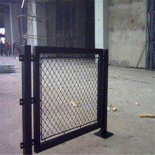 勾花铁路护栏 机械设备防护网 边坡防落石网