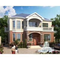九江别墅设计AT1793二层私人农村自建简洁实用别墅施工图纸12.6mX10.5m