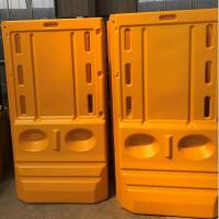 徐州三孔塑料水马价格,交通路障,隔离墩三孔水马进口PE树脂
