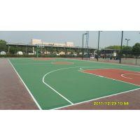 篮球场地面施工户外丙烯酸篮球场塑胶球场改造环保无毒材料