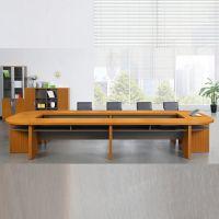 深圳华明板式会议桌简约6米会议桌长桌商务洽谈办公桌椅