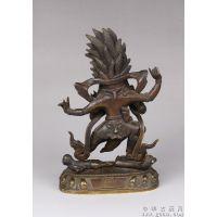 大威德金刚像-艺都铜雕铸造厂贴金宗教佛像雕塑寺庙佛教雕塑
