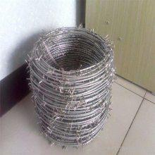 pvc刺绳厂家 刺绳支架图片 铁丝网大全