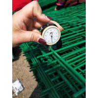 【铁丝网围栏厂家】厂区围墙网 绿色防锈铁丝围栏网 金属护栏网供应