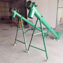 不锈钢提升机 宏瑞生产固定式螺旋输送机