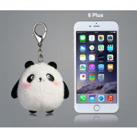 深圳源头厂家毛绒玩具定制 可爱毛绒动物熊猫挂件来图定制