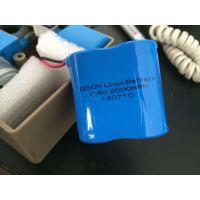 供应DISON迪生Li-ion 手电筒专用22430锂电池 2000mAh3.7V