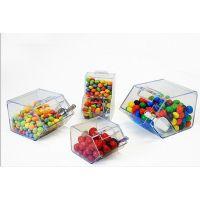 定做亚克力糖果盒 超市零食有机玻璃盒 成都亚克力带翻盖盒加工厂家