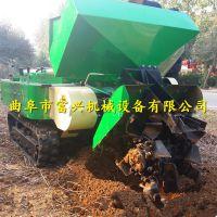 富兴果树旋耕除草机 履带果园施肥开沟机 农用耕地机型号
