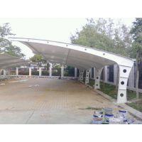 厂家直销膜结构停车棚、景观棚,自行车棚、专业制作,安装