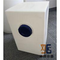 110L长方形塑料水箱 110升方形pe桶 110公斤方形水桶