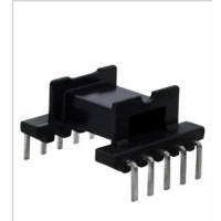 EFD15高频变压器骨架 L脚 卧式5+5 电木材质