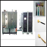 温州刀叉真空镀金机、自动化真空镀膜装备、高效能电镀机器、艺延实业
