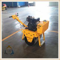 小型单钢轮振动压路机 泥土压实机