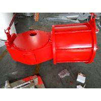 DRG01-D02-35 双作用拨叉气动执行器 大口径阀门气缸 大型气动执行器