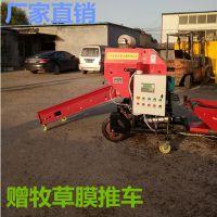 宁津德泰机械有补贴的青贮打包机小型圆捆的玉米秸秆打包机