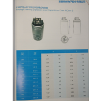 铜峰CBB65型拉伸防爆式金属膜自愈性电容器