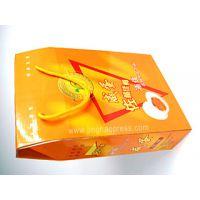 蛋糕包装盒 食品包装彩盒QS认证 上海彩盒印刷厂景浩